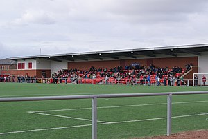 Petershill Park - Image: Petershill Park geograph.org.uk 1780157