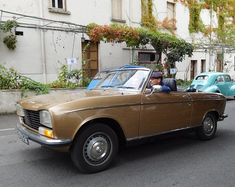 File:Peugeot 304 Cabriolet, brown.jpg