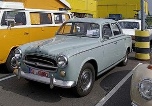 Peugeot 403 - Peugeot 403 sedan