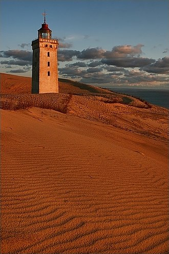 Rubjerg Knude lighthouse - Image: Phare de Rubjerg Knude