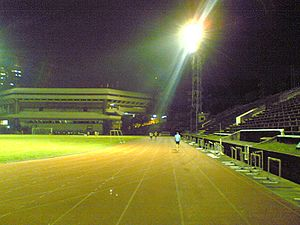 PhilSports Football and Athletics Stadium - Image: Phil Sports Stadium