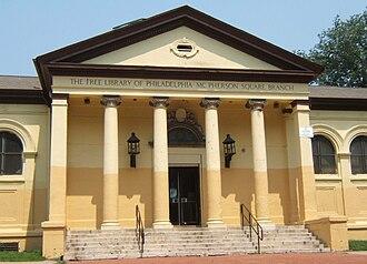 Kensington, Philadelphia - McPherson Square Branch