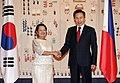 Philippine President Gloria Macapagal Arroyo visiting Korea in May 2009 (4344684053).jpg
