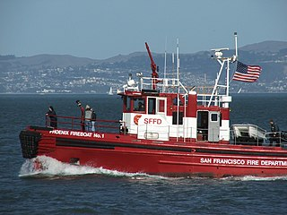 <i>Phoenix</i> (fireboat) fireboat owned by State of California