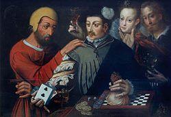Pieter Pourbus: The Cardsharp