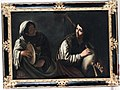 Pietro Paolini - Woman playing a tambourine and woman playing a bagpipe.jpg