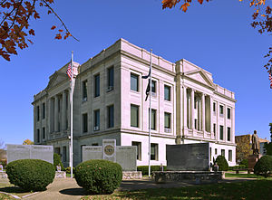 Pike County, Missouri - Image: Pike County MO Courthouse 20141022 A
