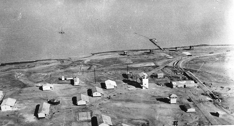 מחנה העובדים במפעלי ים המלח