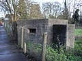 Pillbox next to Bridge Street Bures - geograph.org.uk - 1626371.jpg