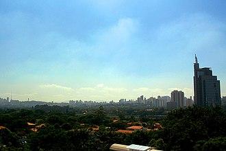 West Zone of São Paulo - Image: Pinheiros SP