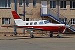 Piper PA46-350P Malibu Mirage JetPROP DLX 'ZS-SWZ' (15874779030).jpg