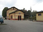 Pitten train station in Lower Austria