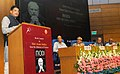 """Piyush Goyal addressing at the release of the book entitled """"Modi and his Challenges"""", written by Dr. Rajiv Kumar, Founder Director, Pahle India Foundation, in New Delhi.jpg"""