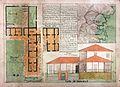 Planta, alzado, reseña y ubicación de la Hacienda Mulaló.jpg