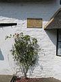 Plaque on John Clare's cottage, Helpston, Peterborough - geograph.org.uk - 217345.jpg