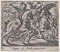 Plate 114- Achilles Battling Cygnus (Cygnus ab Achille interficitur), from Ovid's 'Metamorphoses' MET DP866561.jpg