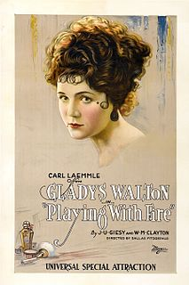 <i>Playing with Fire</i> (1921 American film) 1921 film by Dallas M. Fitzgerald