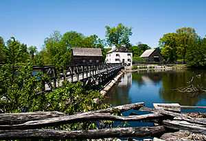 Westchester County, New York - Philipsburg Manor House in Sleepy Hollow