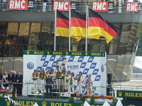 Podium 2010 24 Hours of Le Mans.jpg