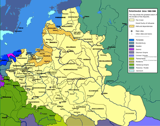 Polish–Swedish union - Poland-Lithuania in union with Sweden