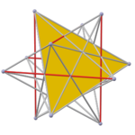Polyhedron great 20 pyritohedral, face yellow.png