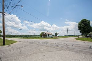 Poneto, Indiana - Photo from Small Town Indiana photo survey.