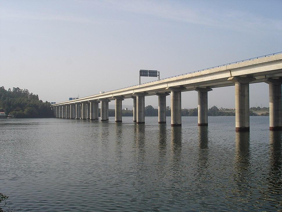 Ponte AP-9 na ría de Ferrol