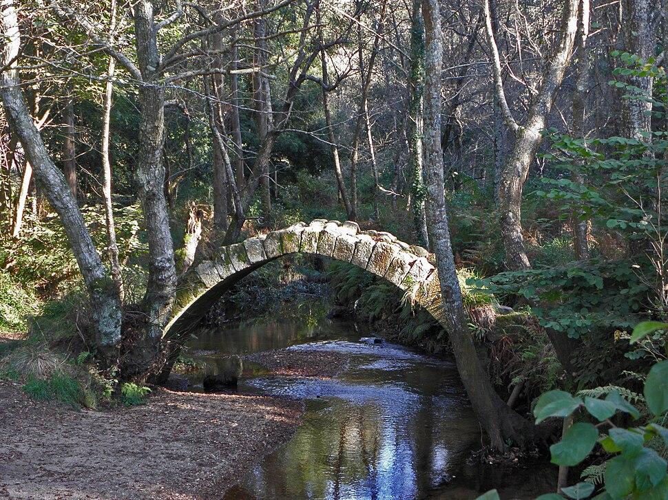 Ponte vello de Xuño Ou Ponte Río Sieira (Porto do Son)