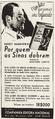 Por quem os sinos dobram Hemingway anúncio Brasil 1942.png