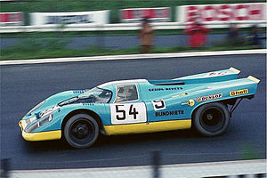 Group 5 (racing) - Group 5 Porsche 917 competing in the 1970 International Championship for Makes
