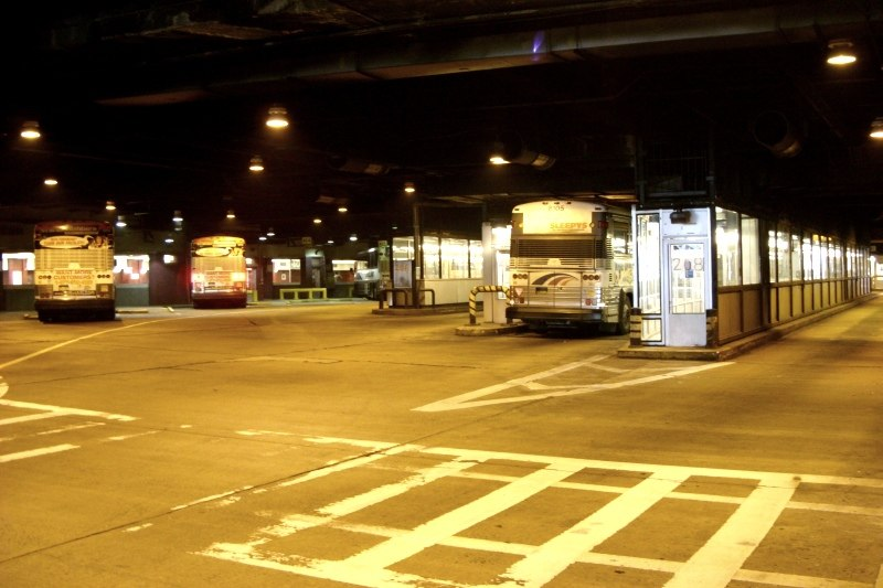 Port Authority Bus Terminal interior