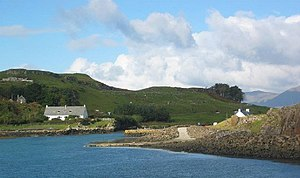 Muck, Scotland - Port Mòr, from the harbour