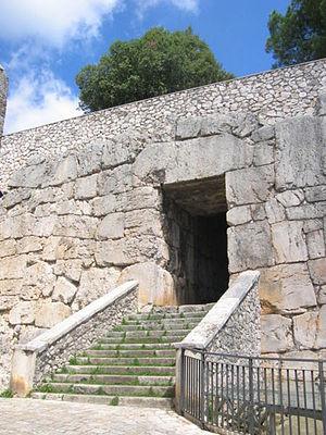 Alatri - The Porta Maggiore.