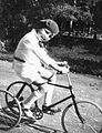 Portrait, kid, tricycle Fortepan 8696.jpg
