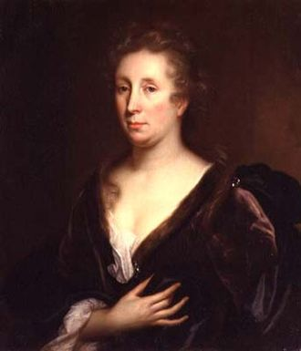 Rachel Ruysch - Portrait of Rachel Ruysch by Godfried Schalcken