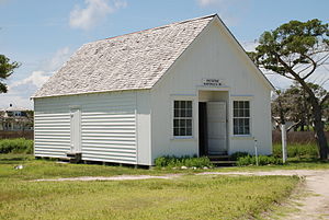 Portsmouth, North Carolina - Post Office and General Store (built circa 1900, closed in 1959)
