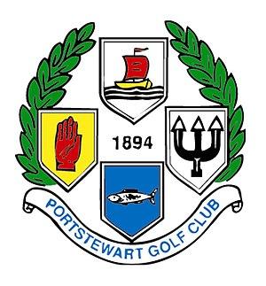 Portstewart Golf Club - Image: Portstewart GC logo