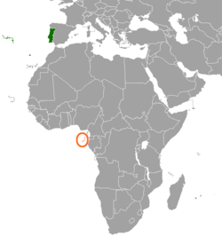 PortugalSão Tomé And Príncipe Relations Wikipedia - Portugal map wikipedia