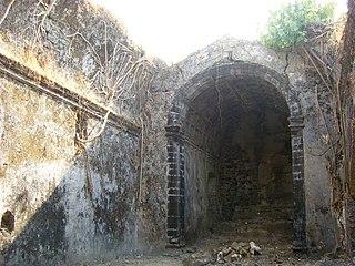 Korlai Fort building in India