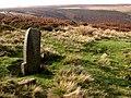 Post on Totley Moor - geograph.org.uk - 260975.jpg