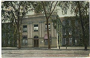 Ansonia, Connecticut - Image: Postc P Postcard Ansonia CT Osman&Cheesman Factory