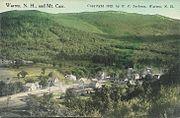 PostcardWarrenNHAndMtCarr1912