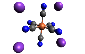 Potassium ferrocyanide - Image: Potassium Ferrocyanide