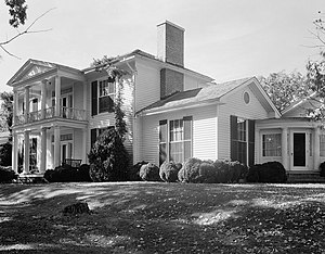 Poteat House - Poteat House, HABS Photo, 1938