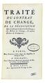Pothier - Traité du contrat de change, 1763 - 324.tif