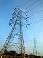 Power transmission lines (High Tension) at Bhongir.jpg