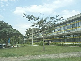 Prédio do Instituto Oceanográfico da USP