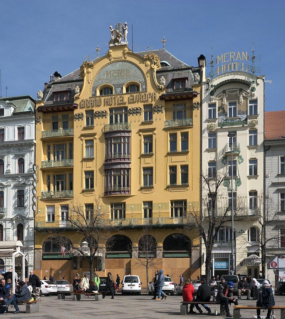 Prag Grand Hotel Evropa 1