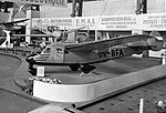 Praga E-211 s motorem Minor 4-III na výstavě v Bruselu (1947).jpg