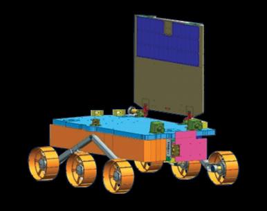 Pragyaan Lunar Rover for Chandrayaan-2